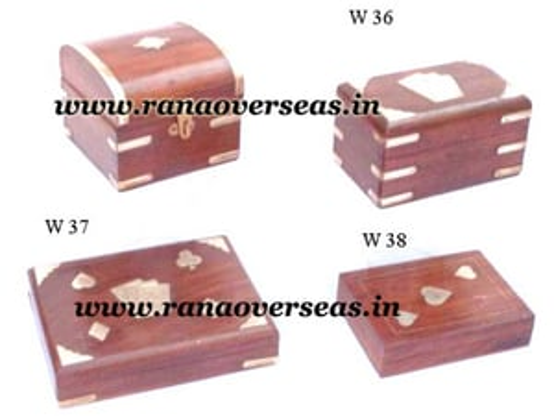 Sheesham Wood card Boxes