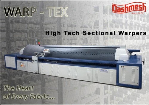 High Tech Sectional Warping Machine