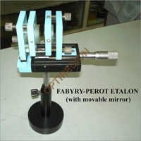 Fabry-Perot Etalon (With Movable Mirror)