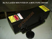 HE- NE Laser Mounted in a Box type Chassis