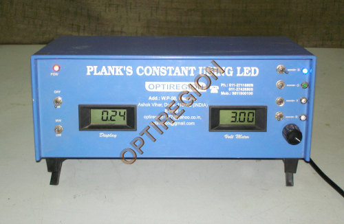 Plank's constant by LED
