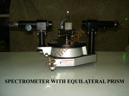 Spectrometer With Equilateral Prism