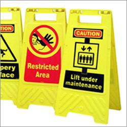 Caution Floor Stands