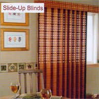 Slide Up Blinds