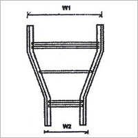 Horizontal Reducer Ladder Cable Tray