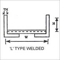 L Type Welded Bracket