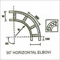 90 Degree Horizontal Elbow