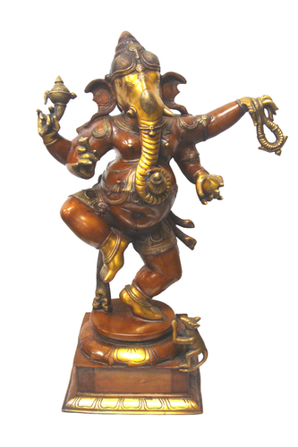 GANESH DANCING Statue