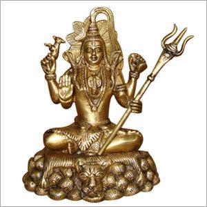Brass Shiva Statue
