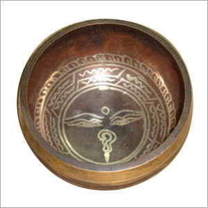 Brass Tibetan Singing Bowl