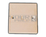 Telephone Wall Socket with Shutter - 6P 4C