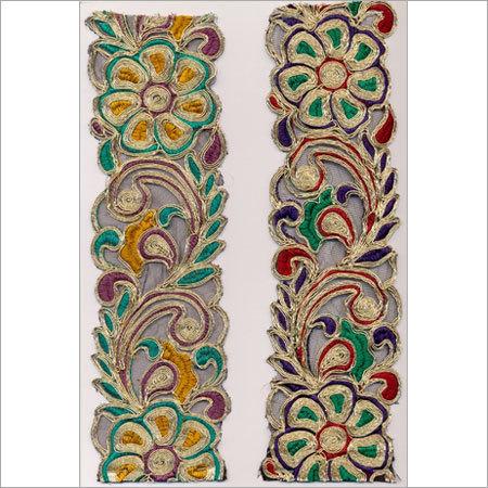 Embroidered Zari Laces