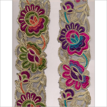 Indian Embroidered Laces