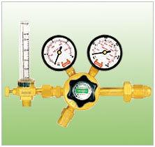 Single Stage Regulator with Flow Meter
