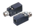 BNC Male Plug to RG45 Twisted Pair BALUN DC Power- 800M