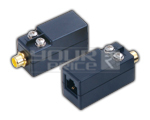 RCA Female to RJ 45 Twisted Pair BALUN without DC Power - 600M