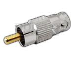 RCA Plug to BNC Socket Adaptor