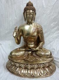 Brass Buddha Sculptures