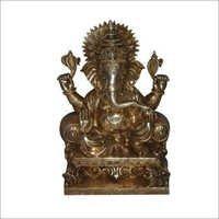 Brass Ganesh Sculpture