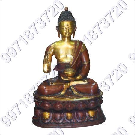 Decorative Brass Buddha Statues