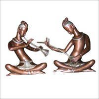 Antique Brass Statues