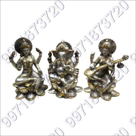 Brass Hindu God Statues