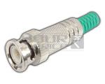 BNC Plug Full Metal (Copper Plated) (Pin Gold Plated)