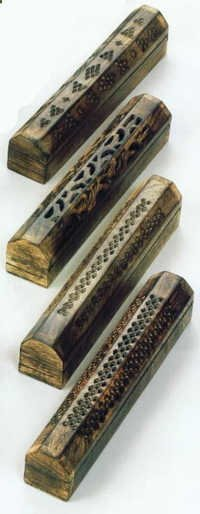 Mango Wood Incense Boxes