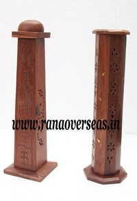 Sheesham Wood Incense Pillar