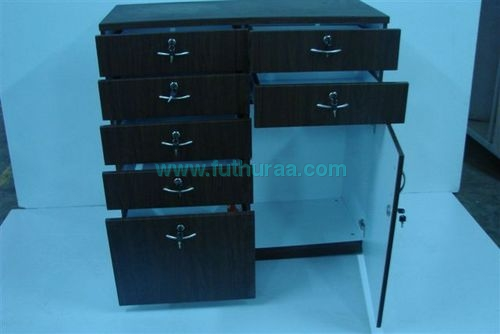 Pedetsal 7drawer, 1door