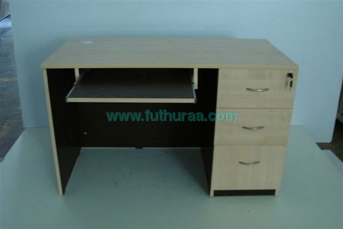 Computer Table with 3 drawer