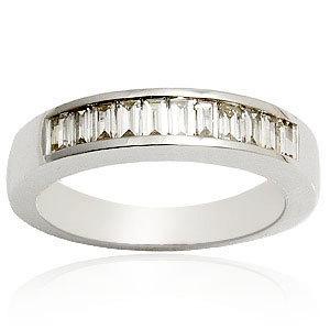 semi diamond baguett ring white gold diamond ring for women inexpesive engagement diamond ring