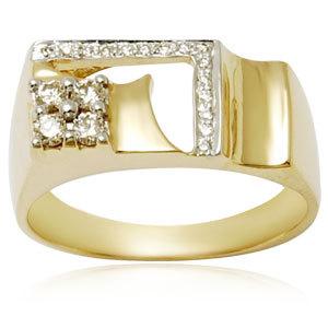 Fancy Engagement Ring for Men
