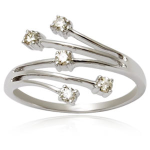 white diamond ring for girls girls ring in white g