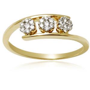 Fine Gold Ring for Girls