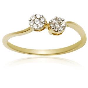 Daily Wear Gold Diamond Ring