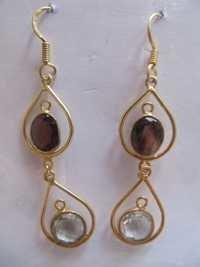Silver Stone Earring