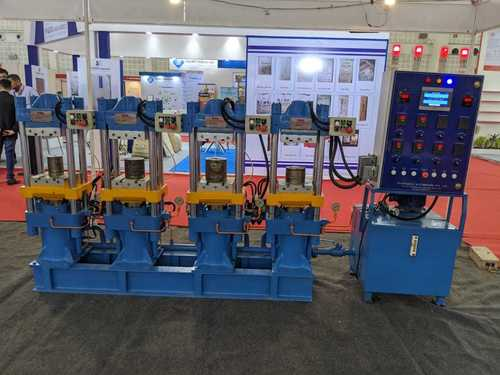 Hydraulics Rubber Four Station Press