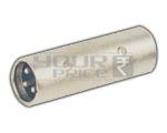 XLR 3 Pin Mic male to XLR 3 Pin Mic Male Adapter