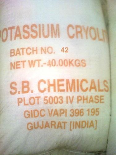 Potassium Cryolite(Potassium Aluminium Fluoride or Tripotassium