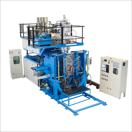 Single Layer Blow Moulding Machine