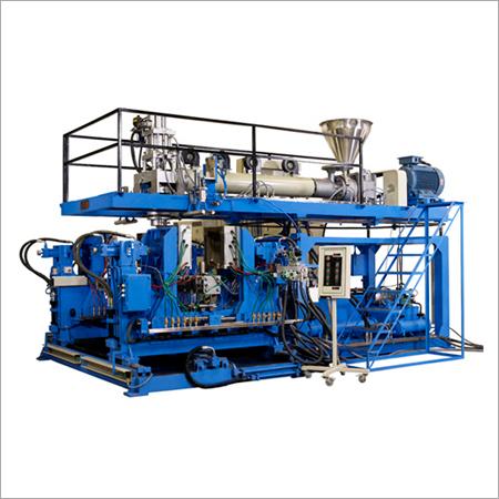 Double Station Blow Moulding Machine