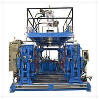 Double Station Extrusion Blow Molding Machine