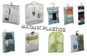 Multi Colored Hanger Bags