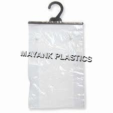 Non Printed Plastic Hanger Bags