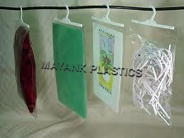 Multi Coloured Non Printed Hanger Bags