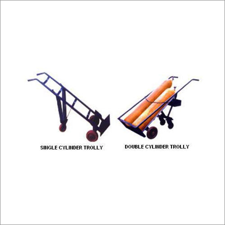 Portable Gas Cylinder Trolley