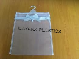 Non Poly Printed Plastic Hanger Bags