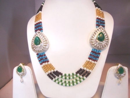 Side Pendant Necklace