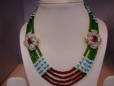 Imitation Side Pendant Necklace